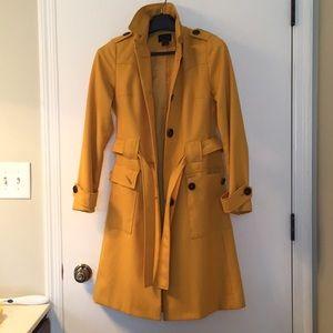 Via gold fall trench coat